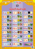 EinStylo - English letter (3-5 years) - Poster