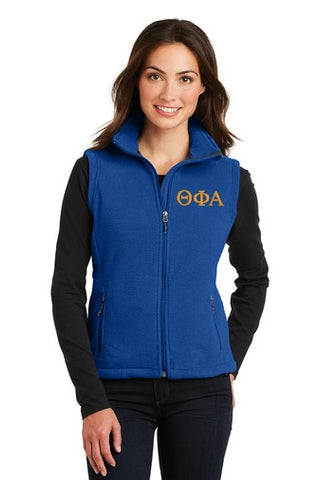 Theta Phi Alpha Ladies Fleece Vest