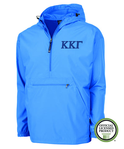 Kappa Kappa Gamma Charles River Pack and Go Pullover Jacket