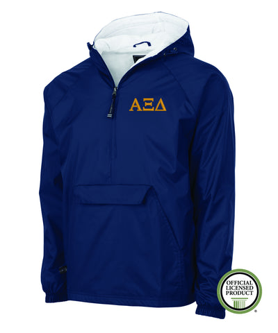 Alpha Xi Delta Charles River Lined Pullover Jacket