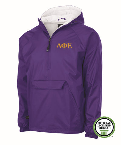 Delta Phi Epsilon Charles River Lined Pullover Jacket