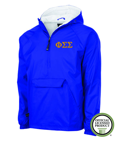 Phi Sigma Sigma Charles River Lined Pullover Jacket