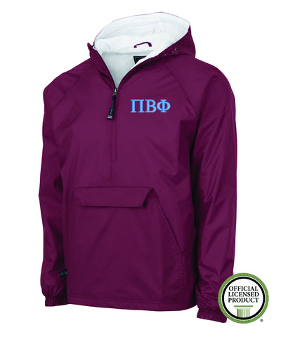 Pi Beta Phi Charles River Lined Pullover Jacket