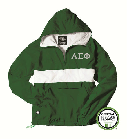 Alpha Epsilon Phi Charles River Classic Striped Pullover 9908