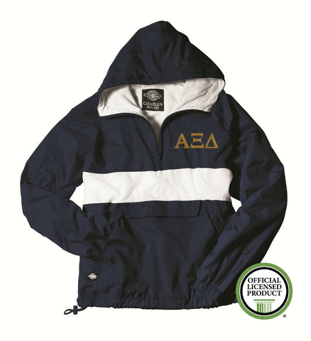 Alpha Xi Delta Charles River Classic Striped Pullover 9908