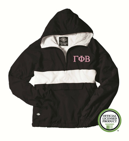 Gamma Phi Beta Charles River Classic Striped Pullover 9908