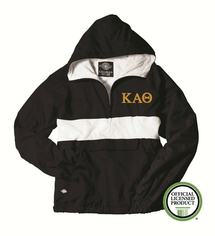 Kappa Alpha Theta Charles River Classic Striped Pullover 9908