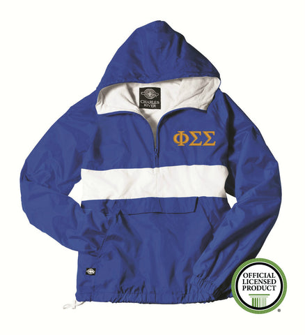 Phi Sigma Sigma Charles River Classic Striped Pullover 9908