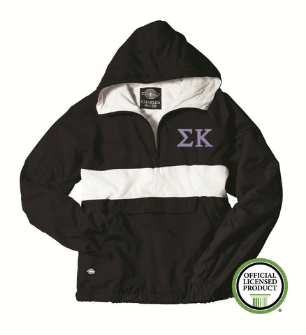 Sigma Kappa Charles River Classic Striped Pullover 9908