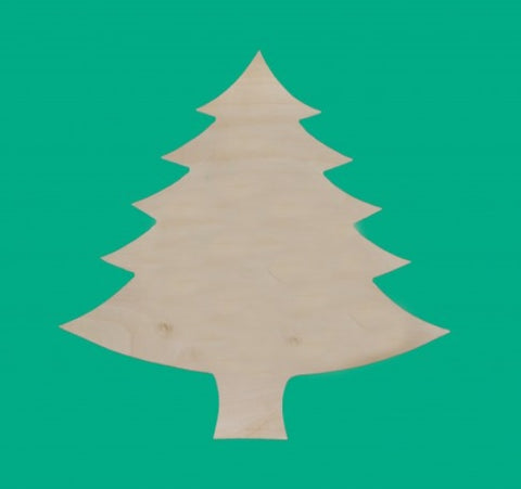 18 in. Wood Christmas Tree