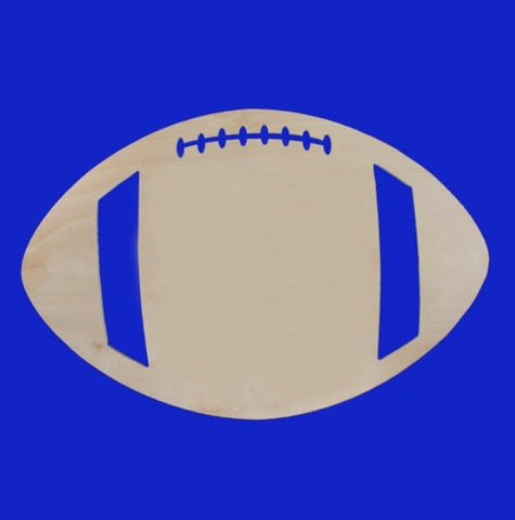 18 in. Wood Football