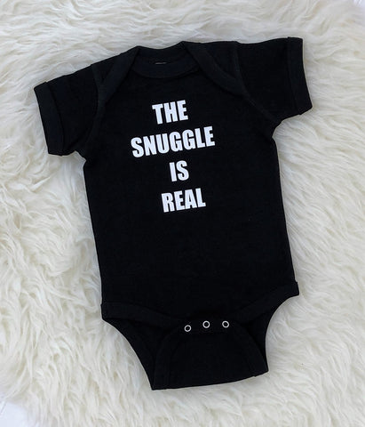 The Snuggle Is Real Bodysuit