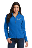Alpha Delta Pi Ladies Fleece Jacket