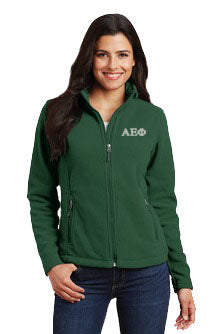 Alpha Epsilon Phi Ladies Fleece Jacket