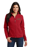 Alpha Chi Omega Ladies Fleece Jacket