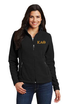 Kappa Alpha Theta Ladies Fleece Jacket