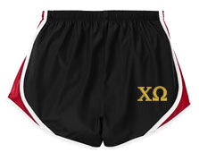 Chi Omega Ladies Athletic Shorts