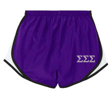 Sigma Sigma Sigma Ladies Athletic Shorts