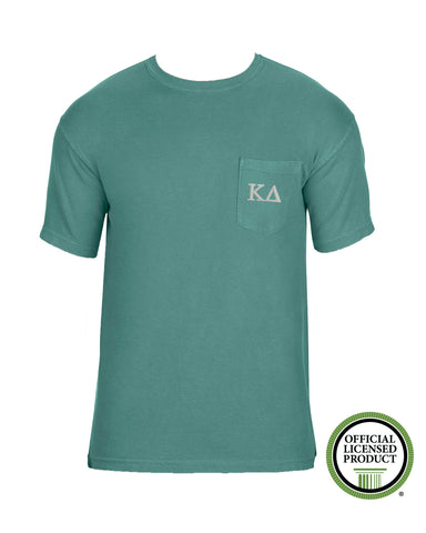 Kappa Delta Short Sleeve Comfort Color Pocket Tee