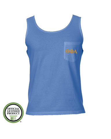 Theta Phi Alpha Comfort Color Pocket Tank