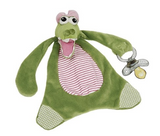 Girly Gator Pacifier Lovie