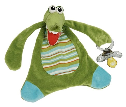 Boy Gator Pacifier Lovie