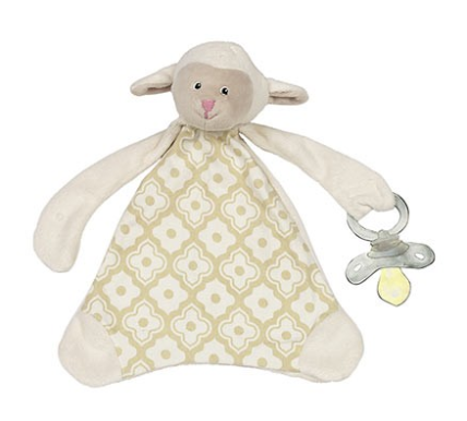 Lamb Pacifier Lovie