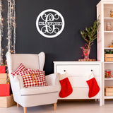 22 in. Name Design Wood Monogram