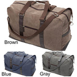 Washed Canvas Mens Weekender