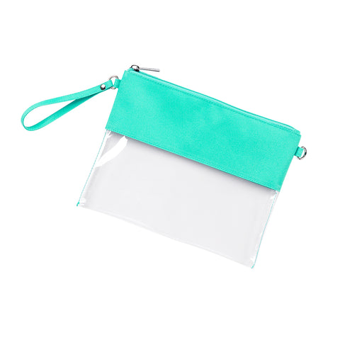 Mint Clear Purse