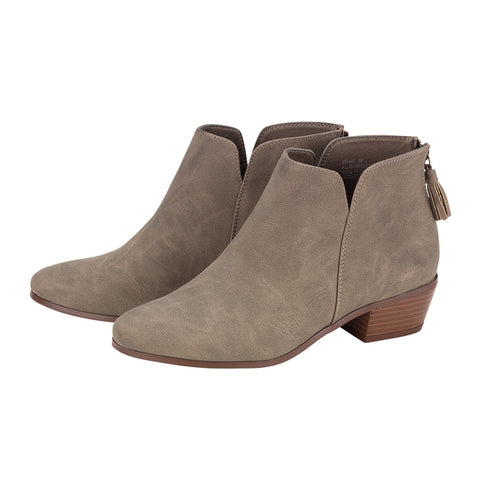 Taupe Hudson Short Boot