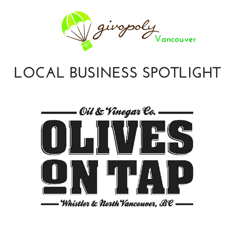 Olives on Tap for Vancouver Gift Delivery by Givopoly