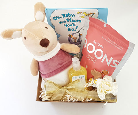 New Mom & Baby Gift Basket