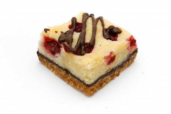 Coconut Cherry Dream Squares