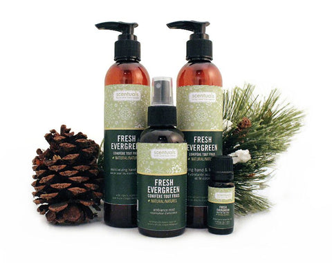 Fresh Evergreen Gift Set