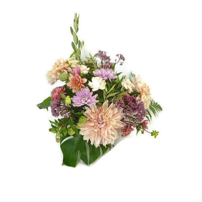 Shades of Pink Hand Tied Seasonal Bouquet