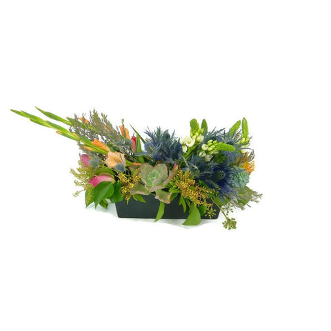 Seasonal Succulent & Floral Arrangement