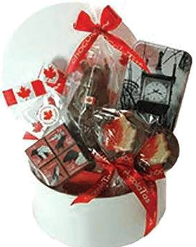 Large Canada Day Basket