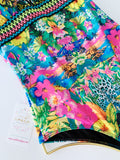 Hawaii Love Beaded Colombian One-Piece Swimsuit