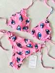 Eye See You Pink Bikini Set