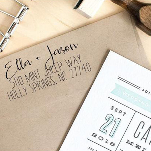 Custom Handwritten Return Address Stamp