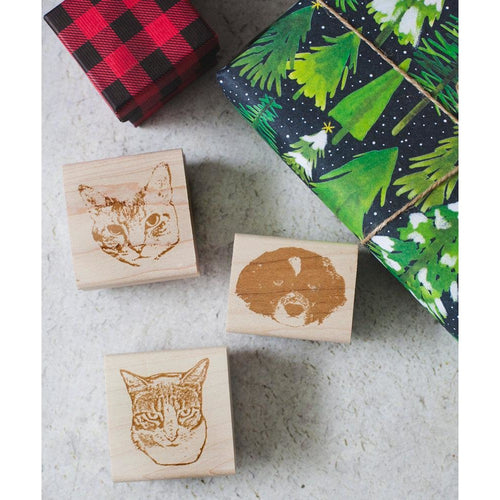 Custom Pet Portrait Stamp