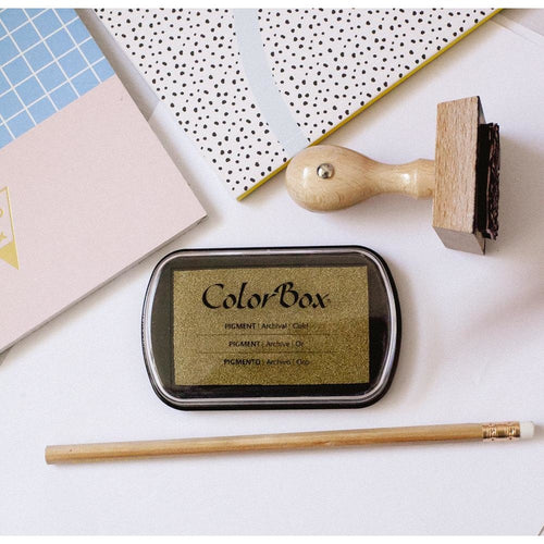 ColorBox Stamp Pad-Gold