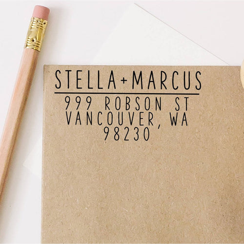 Customized Return Address Stamp