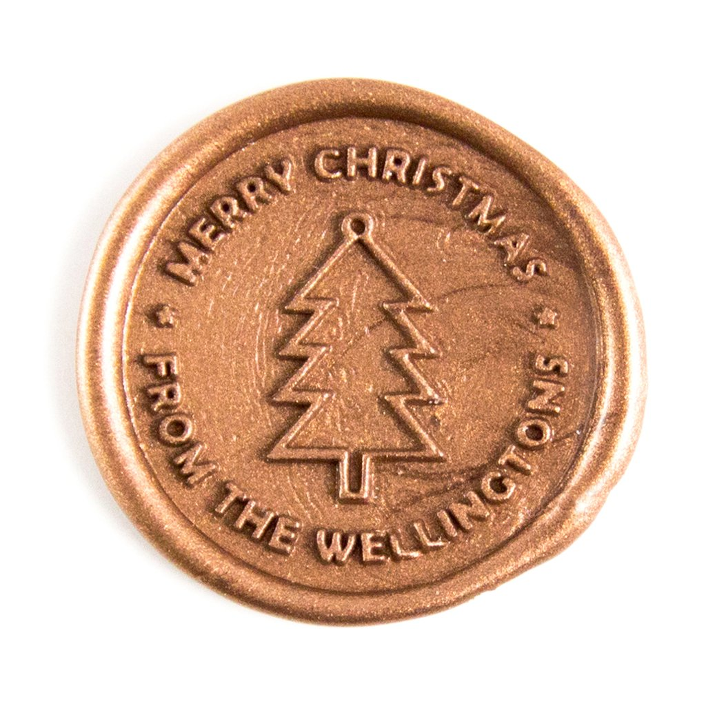Custom Merry Christmas Wax Seal