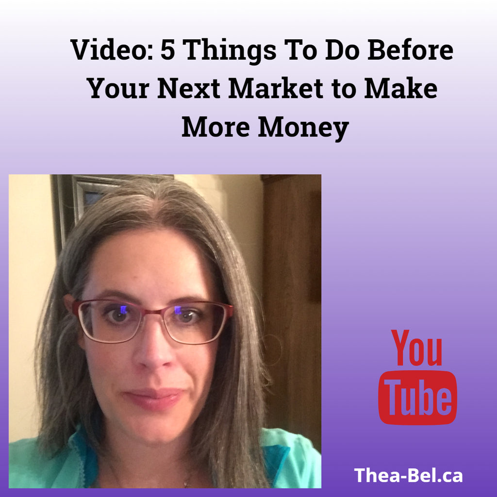 Video: 5 Things To Do Before Your Next Market to Make More Money