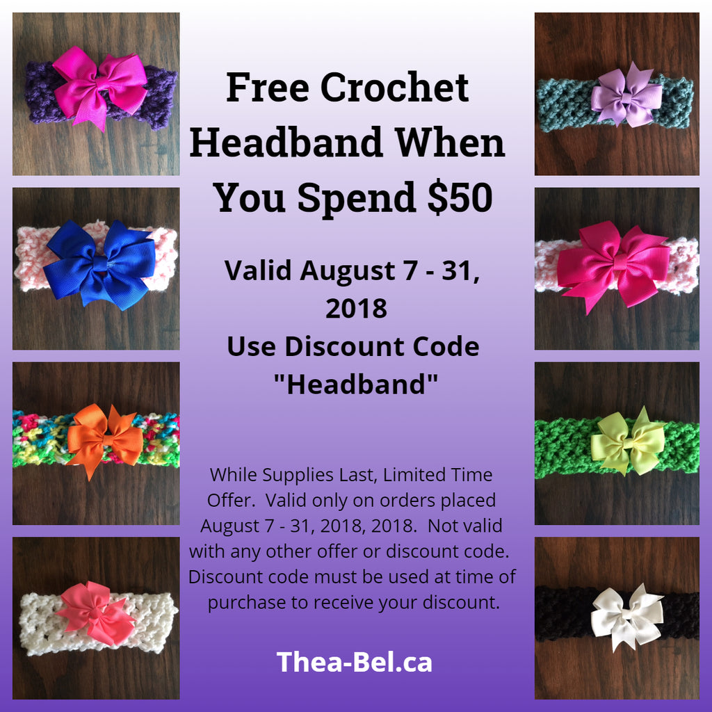 Free Headband With $50 Purchase