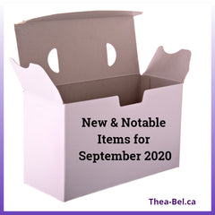 New & Notable Items in September