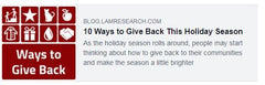 10 ways to give back