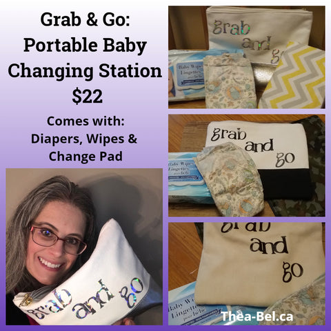 Grab & Go - Portable Baby Changing Station